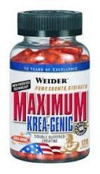 Weider Maximum Krea-Genic 120 капс.