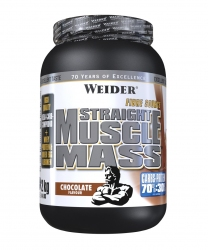 "Гейнеры ""Weider Straight Muscle Mass 2000 г"" (Производитель Weider)"
