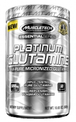 "Глютамин ""MT Platinum 100% Glutamine"" (Производитель MuscleTech)"
