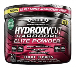 "Термогеники ""MT Hydroxycut Hardcore Elite Powder"" (Производитель MuscleTech)"