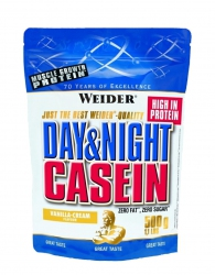 "Казеиновые ""Weider Day & Night Casein  500 г"" (????????????? Weider)"