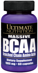"BCAA ""Ultimate Nutrition BCAA 1000mg 60caps"" (Производитель Ultimate Nutrition)"