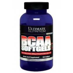 "BCAA ""Ultimate Nutrition BCAA Softgels 180 softgels"" (Производитель Ultimate Nutrition)"