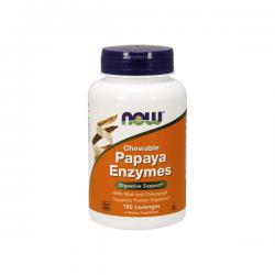 "Для печени и ЖКТ ""NOW Papaya Enzyme Chewable 180 Lozenges"" (Производитель NOW Foods)"