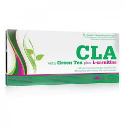 "Липотропики ""OLIMP Labs CLA with GREEN TEA plus L-CARNITINE 60 капсул"" (Производитель Olimp Labs)"