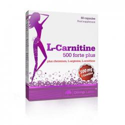 "Капсулы и таблетки ""OLIMP Labs L-Carnitine 500 forte plus 60 капсул"" (Производитель Olimp Labs)"