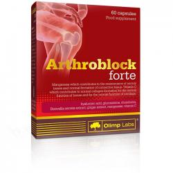 "Глюкозамин и Хондроитин ""OLIMP Labs Arthroblock Forte 60 капсул"" (Производитель Olimp Labs)"